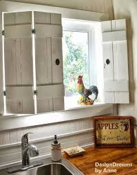 8 barnyard picket window shutters with antiqued hardware