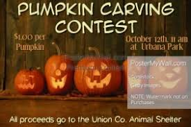 pumpkin carving contest flyer customizable design templates for pumpkin carving flyer postermywall