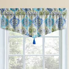 waverly kitchen curtains waverly valances on blue and white fl patterned valance white