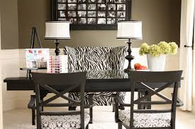 dining room to office. Office Chair Zebra Dining Room To
