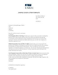 Sample Cover Letter Closing Resume Creator Simple Source