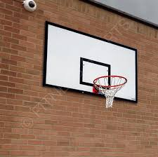 anti vandal basketball wall goals