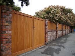 brick fences. Fine Brick Brick And Fences