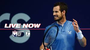 Tennis Channel - Let semifinal #1 commence. Andy Murray and Dan Evans go  head to head in the Battle of the Brits, live right now →tnns.ch/app