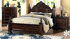 used king size bedroom sets used solid wood bedroom furniture cherry wood bedroom set king size