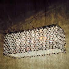rectangular crystal chandelier uk