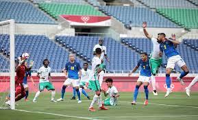 المنتخب الأولمبي السعودي يتعادل أمام البرازيل في الشوط الأول.. فيديو وصور -  قناة صدى البلد