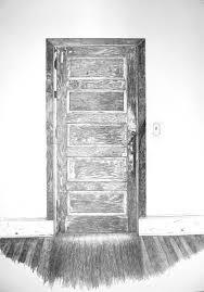 open door pencil drawing. Open Door Pencil Drawing A