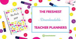 Downloadable Teacher Planners For You Teach Starter Blog