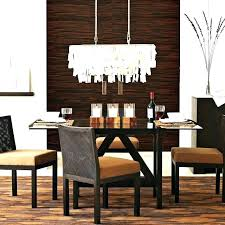 dining table chandelier height dining table chandelier height chandeliers dining room chandeliers contemporary with well modern