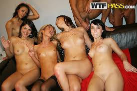 Group orgy cum party
