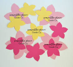 Glace Paper Flower Items Similar To Tropical Paper Flowers On Etsy