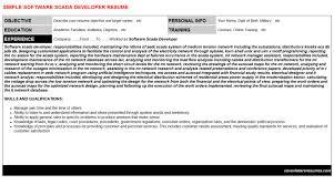 Dcs Engineer Sample Resume Beauteous Plc Scada Dcs Resumes Cover Letters CV Letters Resumes Templates