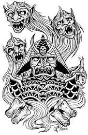 54 Beste Afbeeldingen Van Horror Kleurplaten Coloring Book