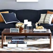 decoration round coffee table white soho williams sonoma
