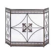 antique fireplace screen iron fireplace screen mesh screen fireplace fireplace screens bronze