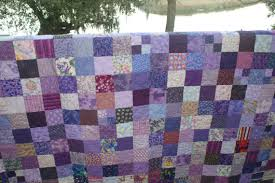 Twin Size All Purple Patchwork Quilt Blanket by LuluBelleQuilts ... & Twin Size All Purple Patchwork Quilt Blanket by LuluBelleQuilts, $150.00 Adamdwight.com