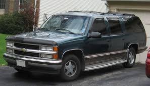1992 Chevrolet Suburban - Information and photos - MOMENTcar