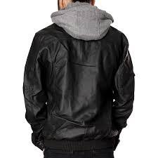 rnz premium designer men s faux leather jacket multiple styles 2
