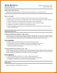 Waiter Resume Samples Velvet Jobs Waitress Skills Image Examples