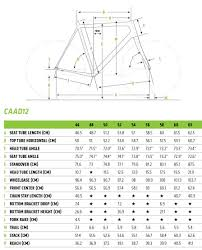 Cannondale Caad12 Size Chart Caad12 Disc Ultegra Cannondale Bikes Creating The Perfect Ride