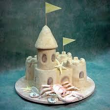 Sand Castle Humorous Wedding Cakes