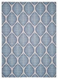 mercer indoor outdoor rug beige navy 5 3 x7 7 contemporary outdoor rugs by safavieh