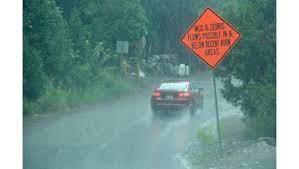 Flash flood watch brings mudslide ...