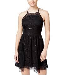 City Studio Dress Size Chart City Studio Womens Sequined Lace A Line Dress