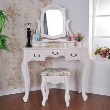 mirrored vanity furniture. Ikea Malm Vanity Makeup Table White Wooden Mirror Three Folding Mirrors Brown Leather Seat Unique Shape Mirrored Furniture