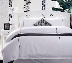 china 300tc pure cotton luxury piping