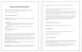 Land Contract Agreement Custom Business Contracts Contract Templates