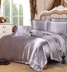 bed sheet and comforter sets silver silk comforter sets grey satin bedding set sheets duvet cover