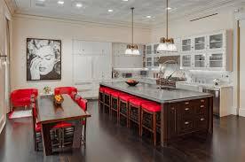 kitchen bar stools backless stainless steel cooker hood chimney round lighting crystal chandelier modern metal
