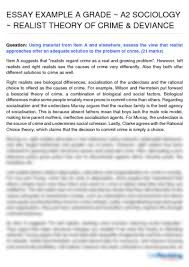 crime essay essay on crime