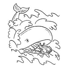 10 Best Free Printable Jonah And The Whale Coloring Pages