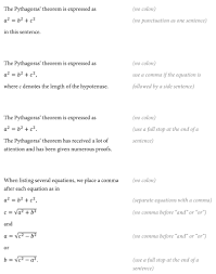 When Do I Use A Comma Ask Ediqo Should I Use Punctuation In Equations Research