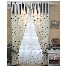 White Patterned Curtains Interesting Navy Blue And White Patterned Curtains Of Polka Dots For Living Room