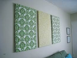 large fabric wall art