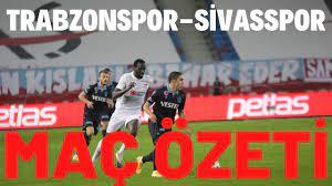 Trabzonspor 1-1 Sivasspor Maç Özeti - YouTube