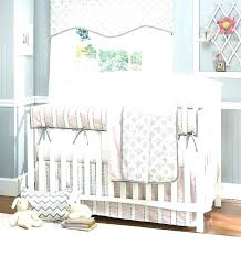 pink and gray elephant crib bedding nursery set 4 carters a