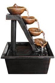 wct324 four tier indoor water fountain