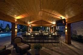 outdoor kitchen lighting. Outdoor Kitchen Lighting Solar Backyard Options Ideas