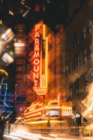 free images 4k wallpaper architecture blur building business city lights downtown evening illuminated light long exposure modern motion neon