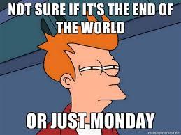 Hating Monday in 18 Memes | The Grasshopper via Relatably.com
