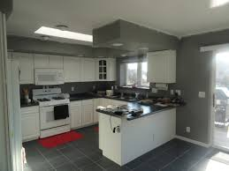 Grey And White Kitchen Grey And Red Kitchen Designs Cool Red Cabinets And Grey Walls