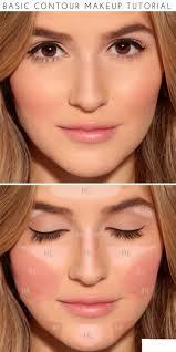 how to basic contour makeup tutorial