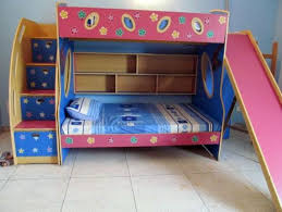 Cool Double Bunk Bed With Slide 40 In Modern House with Double Bunk Bed  With Slide