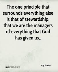 Stewardship Quotes Larry Burkett Quotes QuoteHD 9
