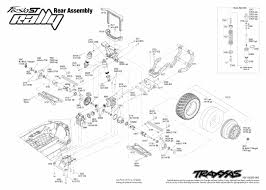 Cars trucks replacement parts traxxas parts electric ford rh robsrchobbies exploded view drawing exploded view of engine parts
